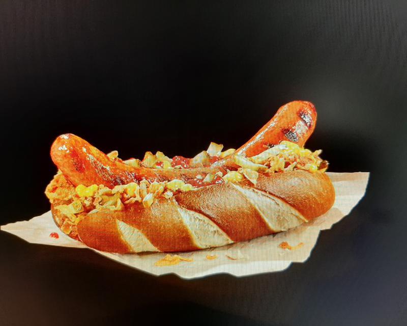 Poza Pretzel gourmet wurst & cartofi