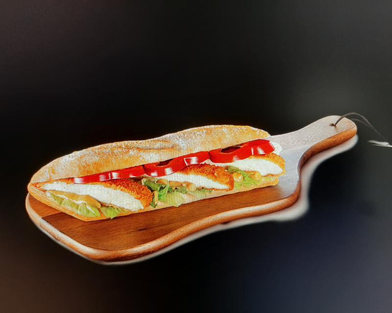 Poza Sandwich Snitel de pui