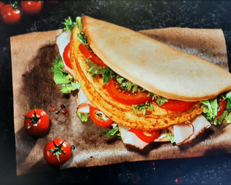 Poza Sandwich Omleta