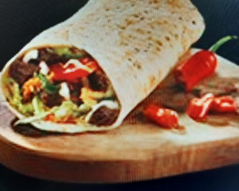 Poza Spicy Beef Wrap