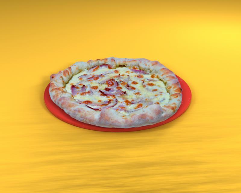 Poza Pizza cu marginea umplută