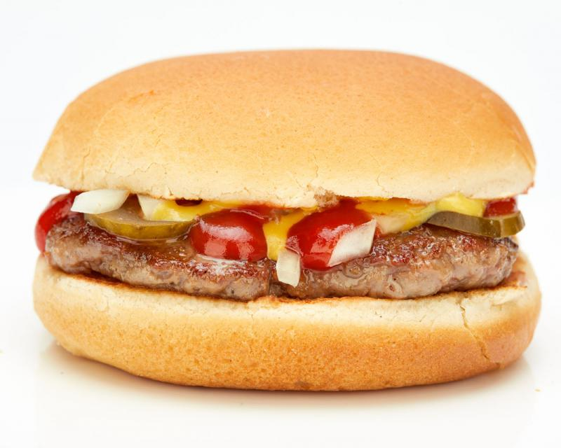 Poza Burger mititel- pt copii