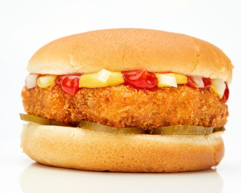 Poza Burger crispy mititel- pt copii