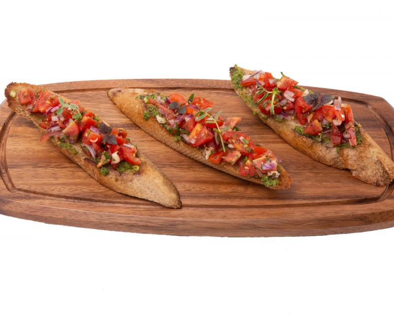 Poza Bruschete cu salsa de rosii