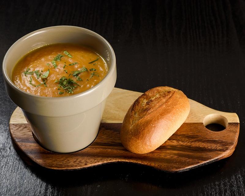 Poza Supa crema de legume & crutoane