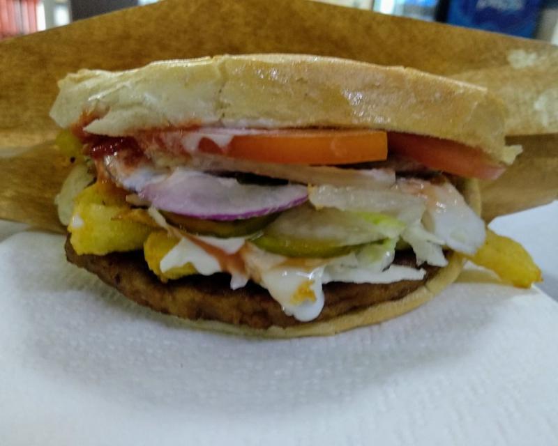 Poza Cheeseburger de pui