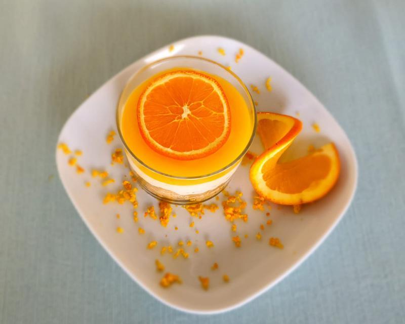 Poza Cheesscake portocale