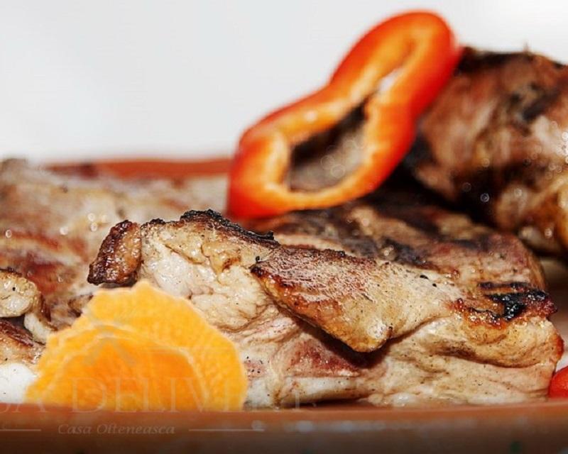 Poza Carne la oala Casa Olteneasca