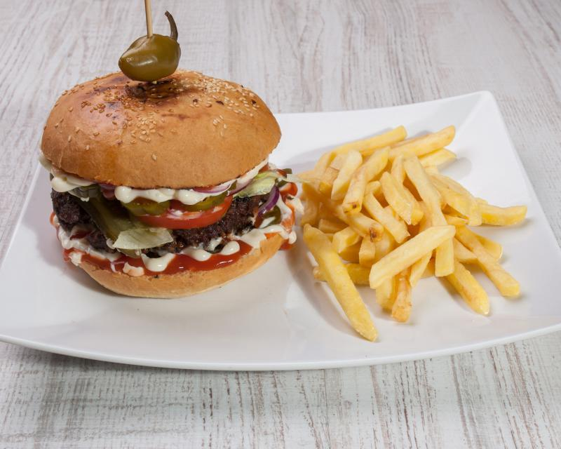 Poza American hot burger