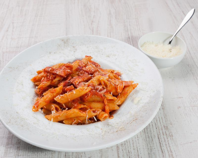 Poza Paste Penne all'amatriciana