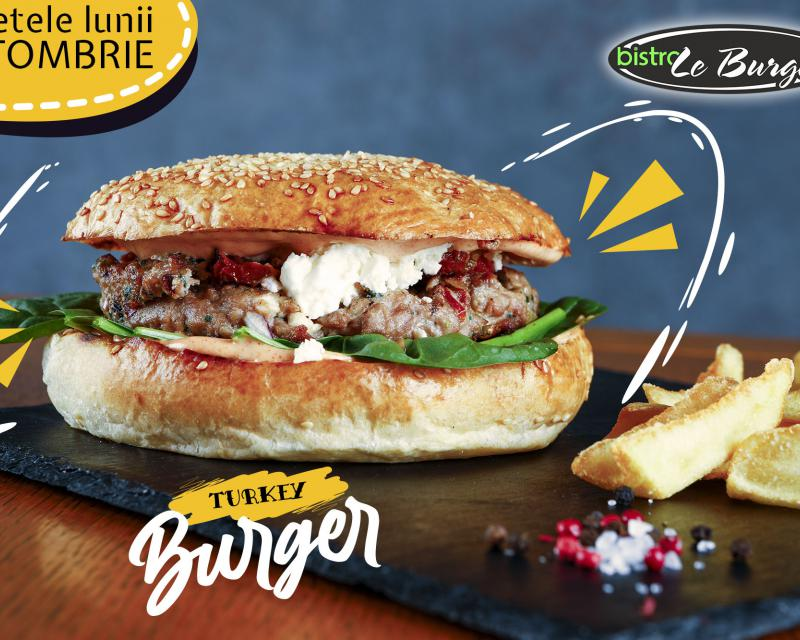 Poza Turkey Burger