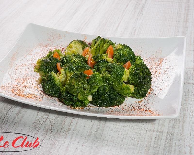 Poza Broccoli inabusit cu usturoi si ulei de masline