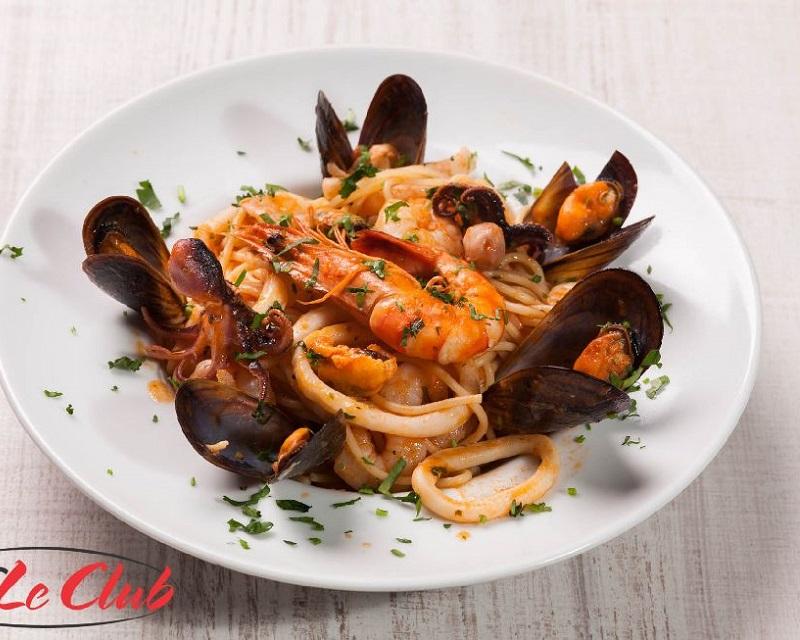 Poza Paste Spaghetti con frutti di mare
