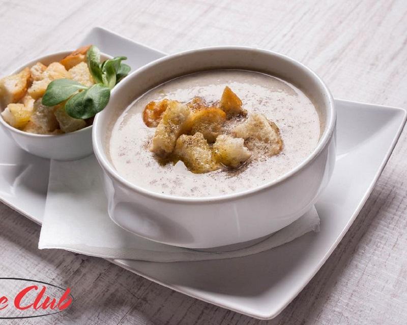 Poza Supa crema de ciuperci