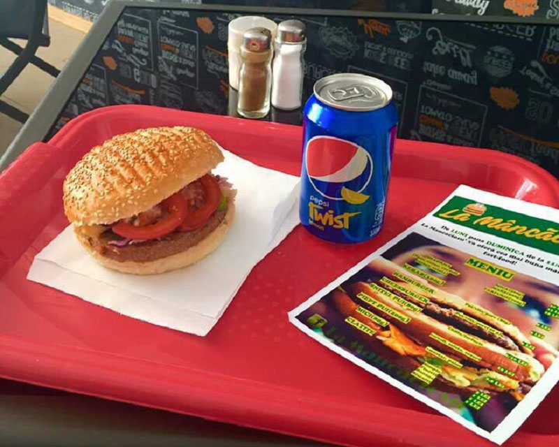 Poza Hamburger pui/porc