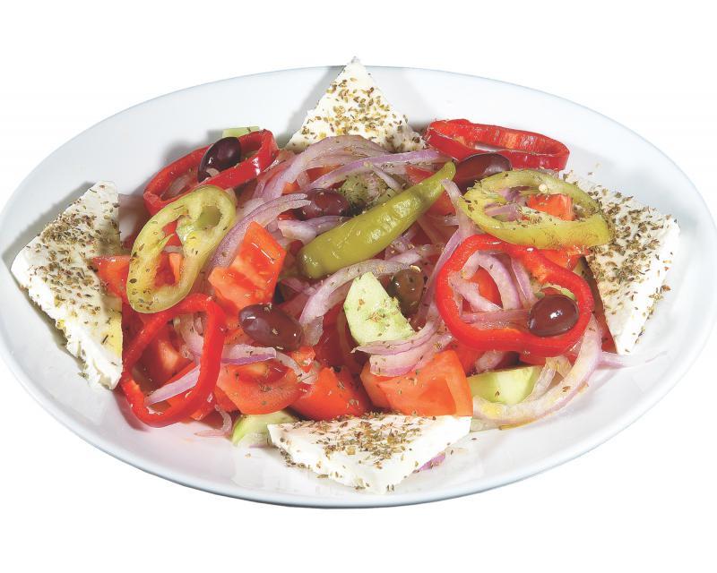 Poza Salata grecesca cu branza feta