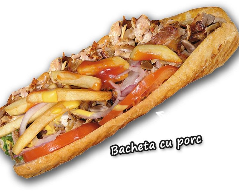 Poza Bagheta cu porc sau pui