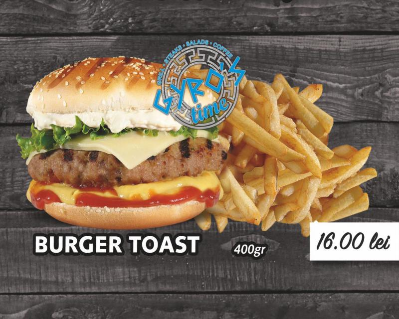 Poza Burger Toast
