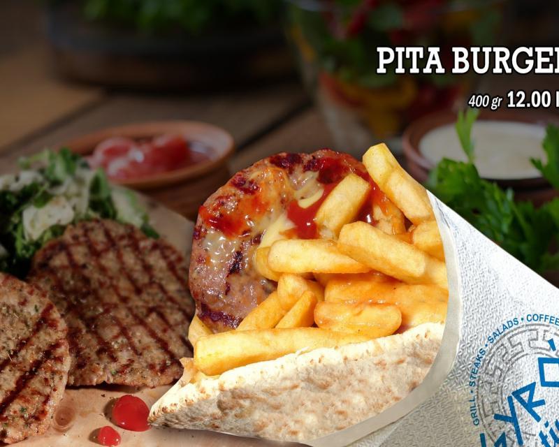 Poza Pita cu Burger