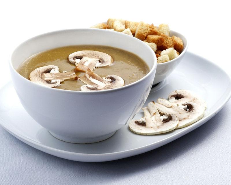 Poza Supă cremă de ciuperci