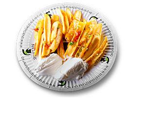 Poza Cartofi cu sos de branza si iaurt