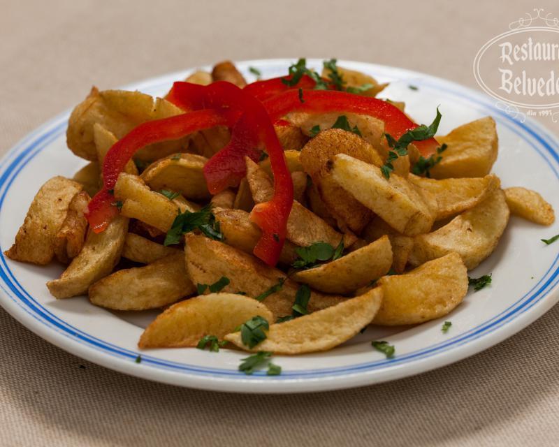 Poza Cartofi prajiti - Preparat de post