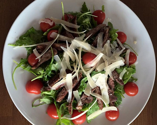 Poza Salata cu muschi de vita