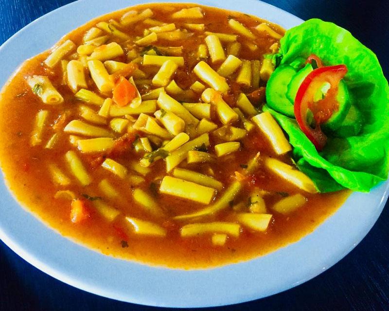 Poza Mâncare de fasole verde