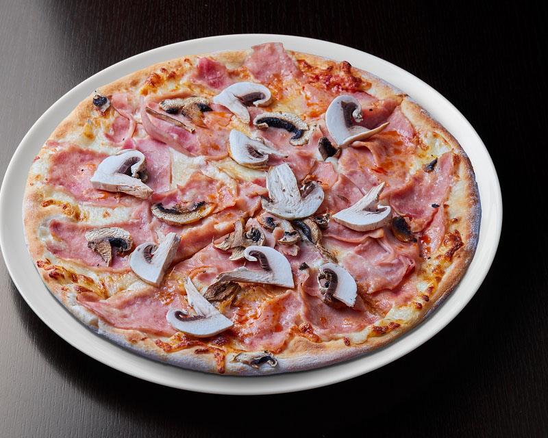 Poza Pizza Prosciutto e funghi