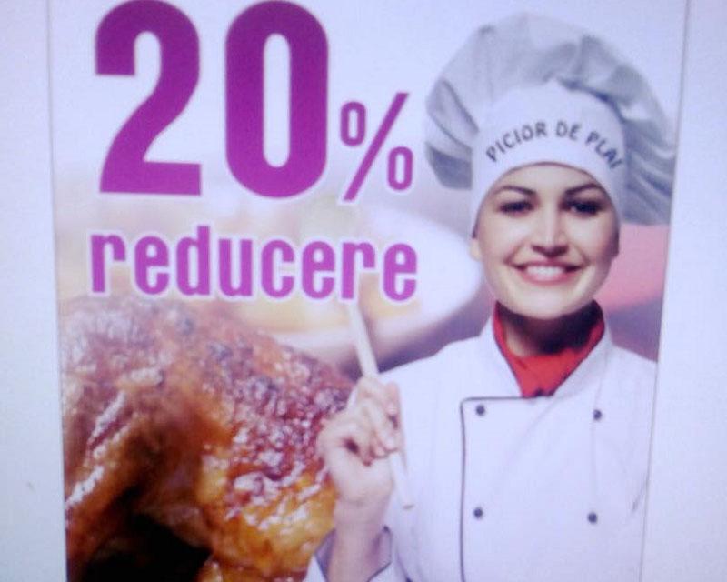 Poza 20% reducere la mancare dupa ora 19:00