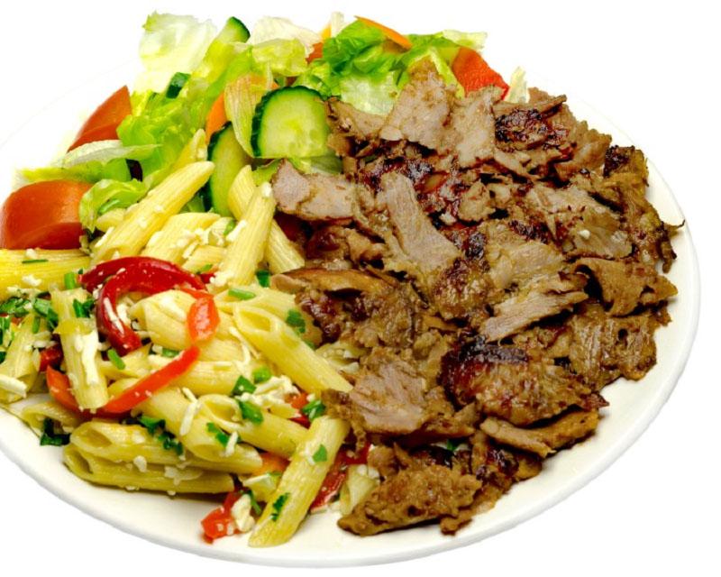 Poza Kebab de vita L cu cartofi sau orez