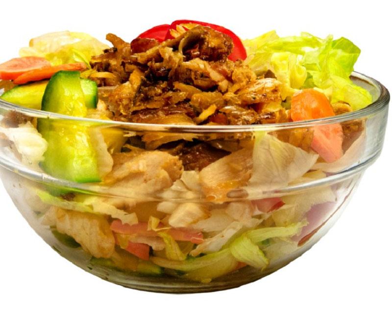 Poza Salata de cruditati cu piept de pui
