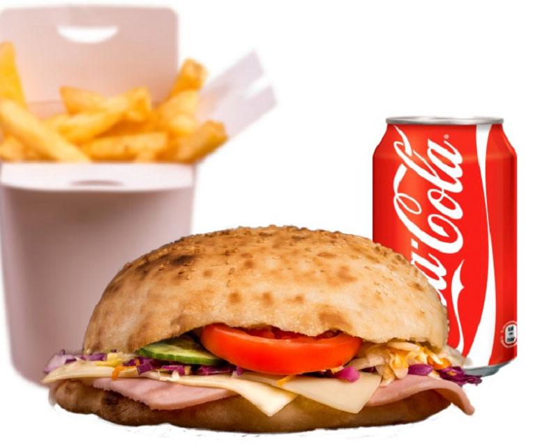 Poza Sandwich cu şuncă şi caşcaval meniu