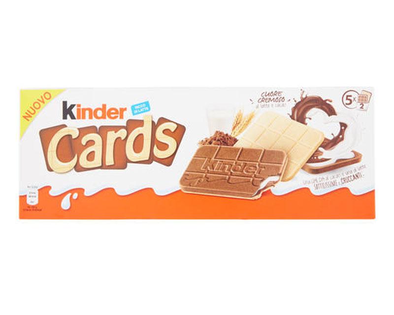 Poza Napolitana KINDER CARDS cu lapte și cacao