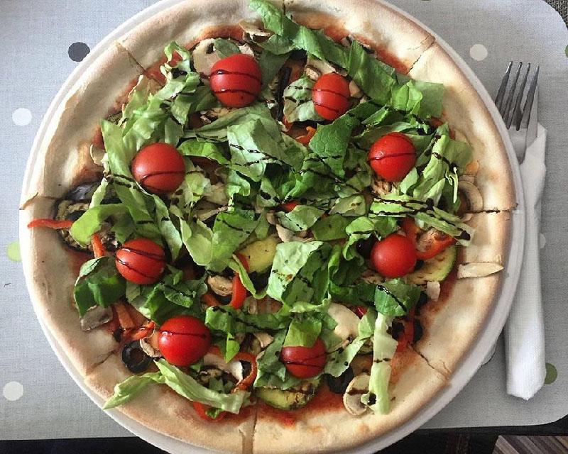 Poza Pizza Vegetariana (de post)
