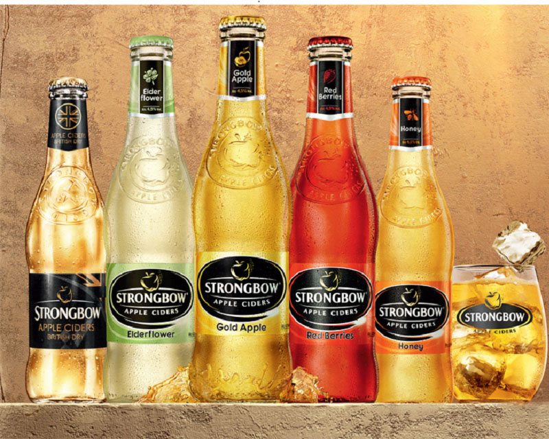 Poza Strongbow gold