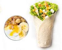 Poza King wrap chicken +iaurt grecesc