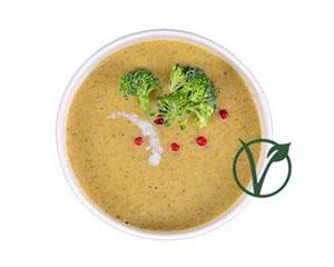 Poza Supa zilei - Joi - Supă cremă broccoli/ Pui cu usturoi