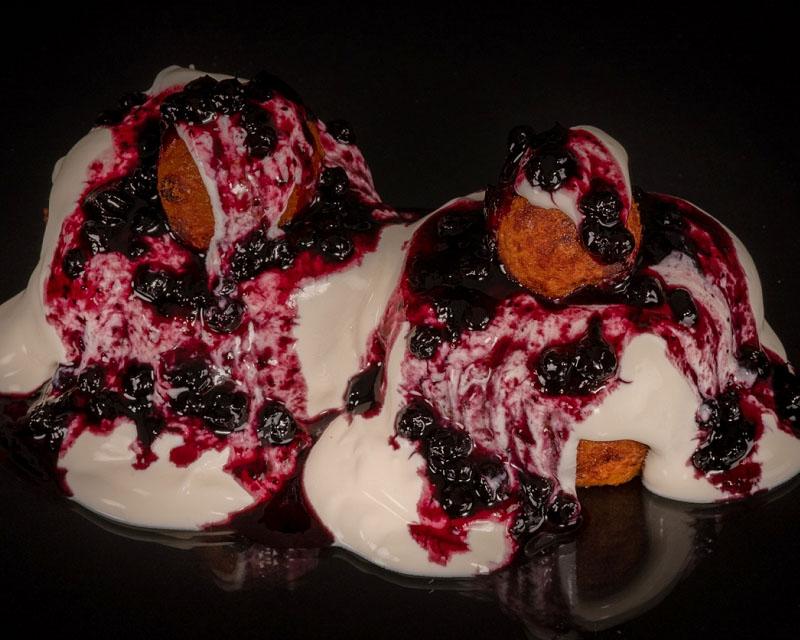 Poza Papanasi cu dulceata si smantana