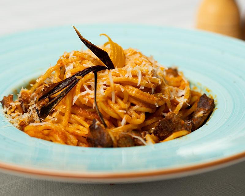 Poza Spaghete Sarea-n bucate