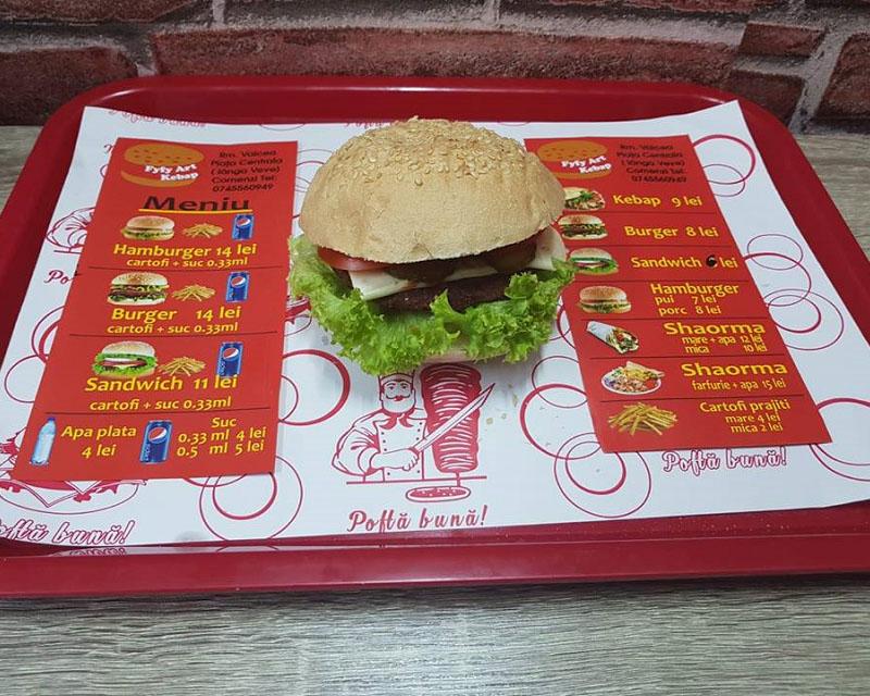 Poza Hamburger de porc
