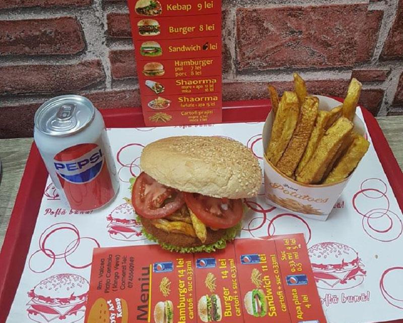 Poza Meniu Sandwich+ Cartofi+ Suc