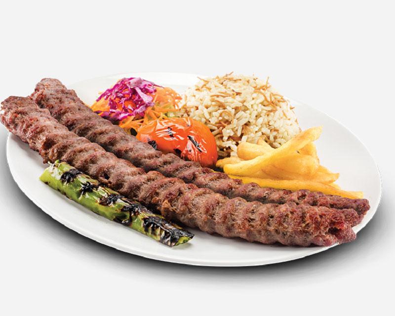 Poza Adana Kebab Farfurie