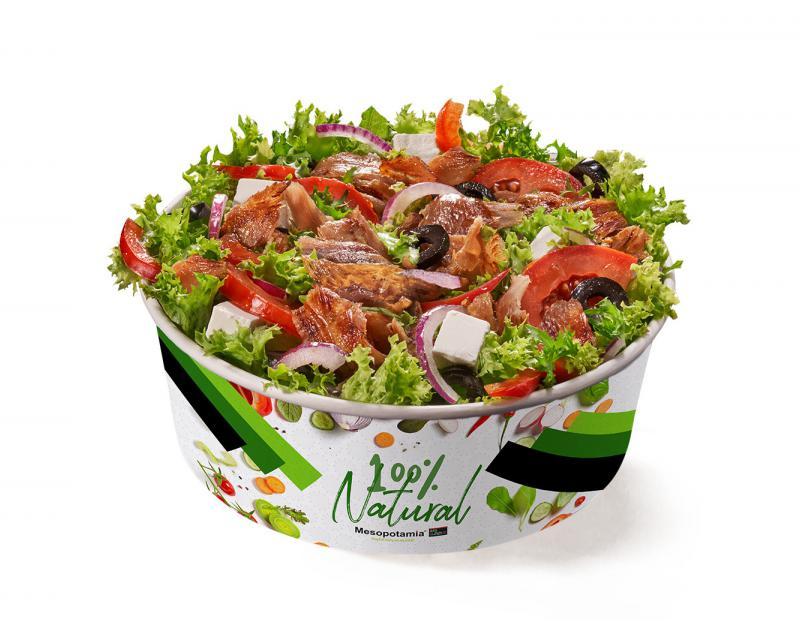 Poza Salată Kebab curcan