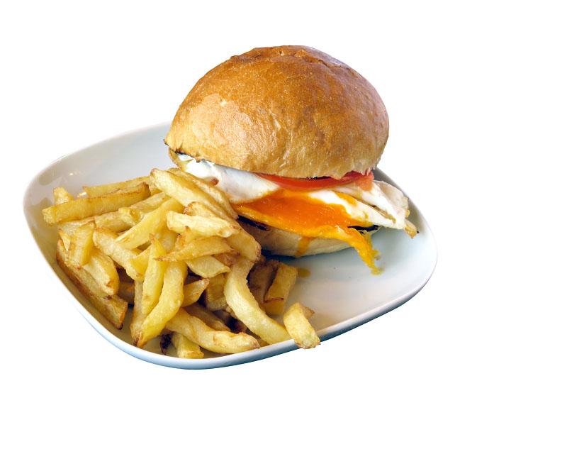 Poza Sandwich con uevo-  gratis la orice fresh, suc sau bere