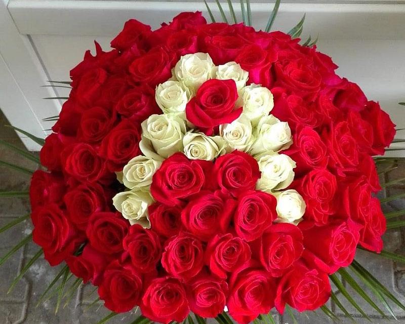 Poza Buchet 51 de trandafiri