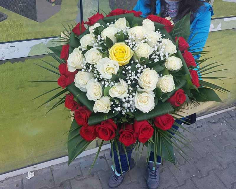 Poza Buchet 41 de trandafiri